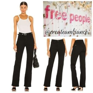 Free People Hi-Rise Flare Jeans